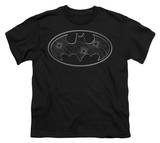 Youth: Batman - Glass Hole Logo T-Shirt