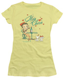 Juniors: Betty Boop - Mon Cherie T-Shirt