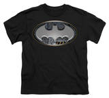 Youth: Batman - Steel Wall Shield T-shirts
