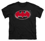 Youth: Batman - Hardcore Noir Bat Logo T-shirts