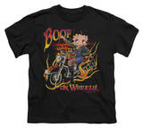 Youth: Betty Boop - Boop on Wheels T-shirts