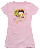 Juniors: Betty Boop - Peace, Love and Boop T-Shirt