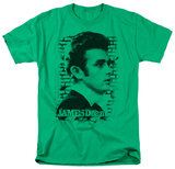 James Dean - Against the Wall T-Shirt