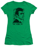 Juniors: James Dean - Against the Wall T-Shirt