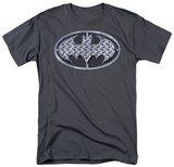 Batman - Steel Mesh Shield T-shirts