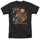 Betty Boop - Boop on Wheels T-shirts