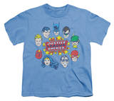 Youth: DC Comics - Justice Head Circle T-shirts