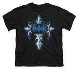 Youth: Batman - Gothic Steel Logo T-shirts