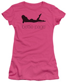 Juniors: Bettie Page - Fashion Logo Shirts
