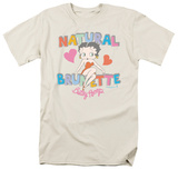 Betty Boop - Natural Brunette T-Shirt