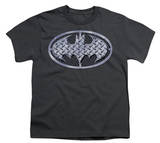 Youth: Batman - Steel Mesh Shield T-Shirt