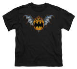 Youth: Batman - Bat Wings Logo T-shirts