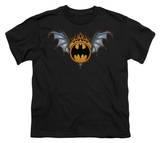 Youth: Batman - Bat Wings Logo T-shirts