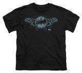 Youth: Batman - Two Gargoyles Logo T-Shirt