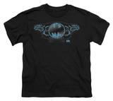 Youth: Batman - Two Gargoyles Logo T-shirts