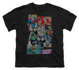 Youth: DC Comics - Justice League Boxes Shirts