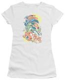 Juniors: DC Comics - Halftone League Shirts