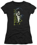 Juniors: James Dean - Checkered Darkness T-Shirt