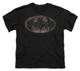 Youth: Batman - Bio Mech Bat Shield T-Shirt