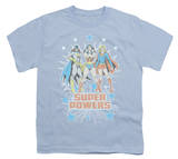 Youth: DC Comics - Super Powers Times 3 Shirt