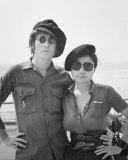 John Lennon and Yoko Ono Photo by Iain Macmillan