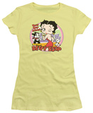 Juniors: Betty Boop - Kiss T-Shirt