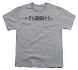 Youth: Batman - Skateboard Bats T-shirts