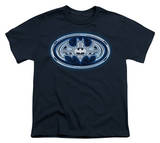 Youth: Batman - Cyber Bat Shield T-shirts