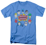 DC Comics - Justice Head Circle T-Shirt