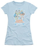 Juniors: DC Comics - Super Powers Times 3 T-Shirt