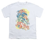 Youth: DC Comics - Halftone League T-Shirt