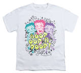 Youth: Betty Boop - Boop Sketch Shirts