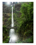 Multnomah Falls Oregon Photographic Print by Jay Rayl