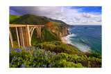 View Of The BIXby Creek Bridge, Big Sur, Ca Photographic Print by George Oze