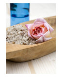 Exfoliating Body Scrub From Sea Salt & Rose Petals Photographic Print by Frank Tschakert