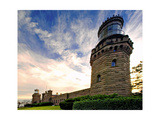 Twin Lights, Navesink Highland Lighthouse, NJ Photographic Print by George Oze