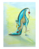 Puss On Boots Giclee Print by Sally King
