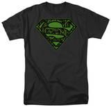 Superman - Circuits Shield Shirts