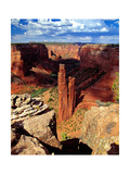 Spider Rock, Canyon De Chelly,Arizona Photographic Print by George Oze