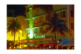 Avalon Hotel Art Deco District, Miami Beach Photographic Print by George Oze