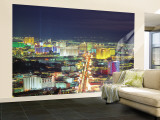 Skyline, Las Vegas, Nevada, USA Wall Mural – Large