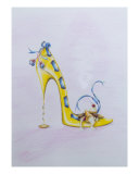 Shoe Pastry Giclee Print by Sally King