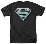 Superman - Chrome Shield T-shirts