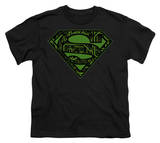 Youth: Superman - Circuits Shield T-shirts