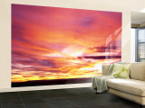 Sunset, Canyon De Chelly, Arizona, USA Wall Mural – Large