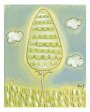 Single Tree Giclee Print by Kim Y.