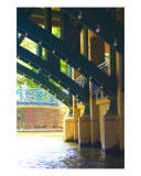 Riverwalk Bridge Arch 1 Photographic Print by Debbie Vinci