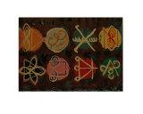 Karuna Reiki Healing Symbols Giclee Print by Navin Joshi