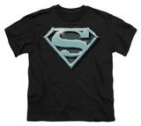 Youth: Superman - Chrome Shield Shirt