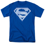 Superman - Ice and Snow Shield T-shirts